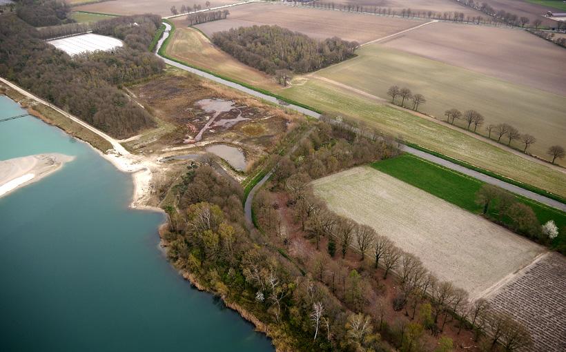 Luchtfoto Lollebeek april 2014