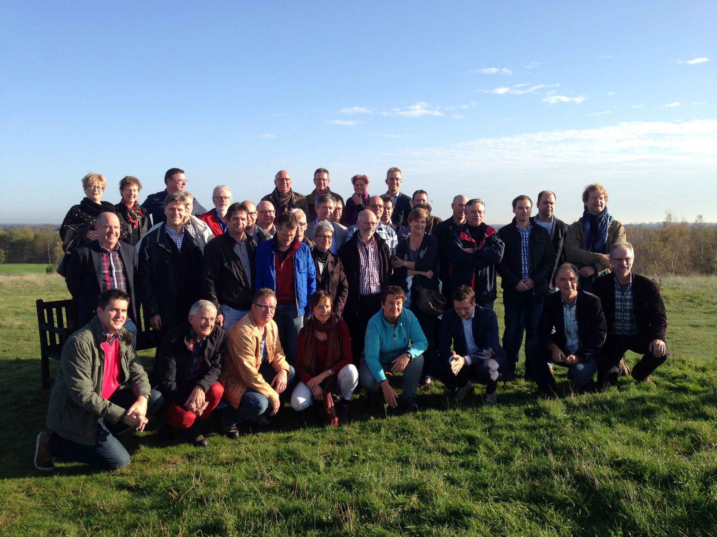 raadsleden excursie Maasgaard Zwarte Plak